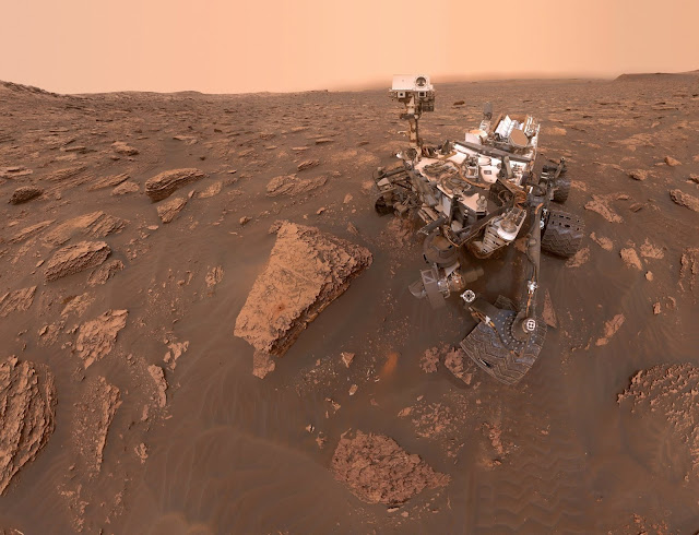Martian dust storm grows global: Curiosity captures photos of thickening haze
