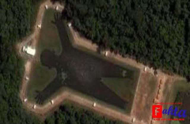 danau di sao paulo brazil danau aneh dan unik berbentuk manusia