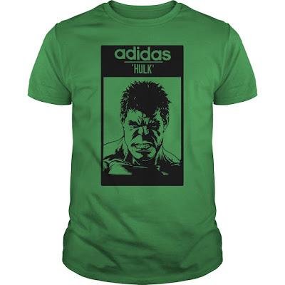 Hulk Adidas T Shirt Hoodie Sweatshirt Shoes Nike Shirts