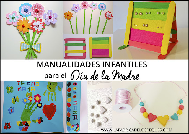 manualidades infantiles dia madre