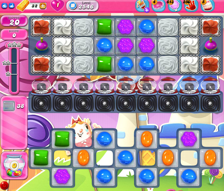 Candy Crush Saga level 2546