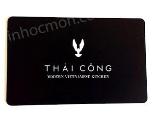 Thẻ vip nhà hàng