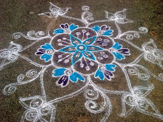 happy pongal rangoli