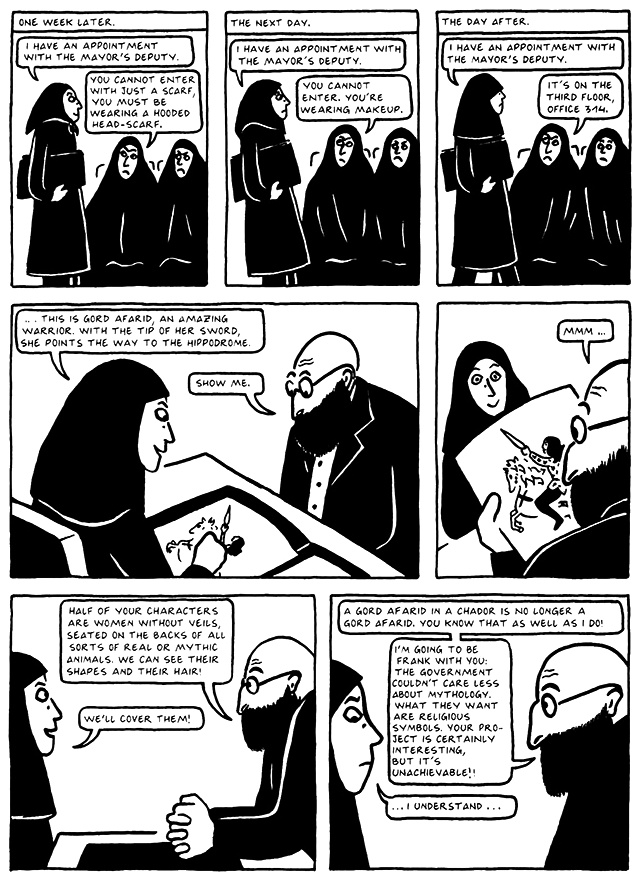 Read Chapter 19 - The End, page 177, from Marjane Satrapi's Persepolis 2 - The Story of a Return