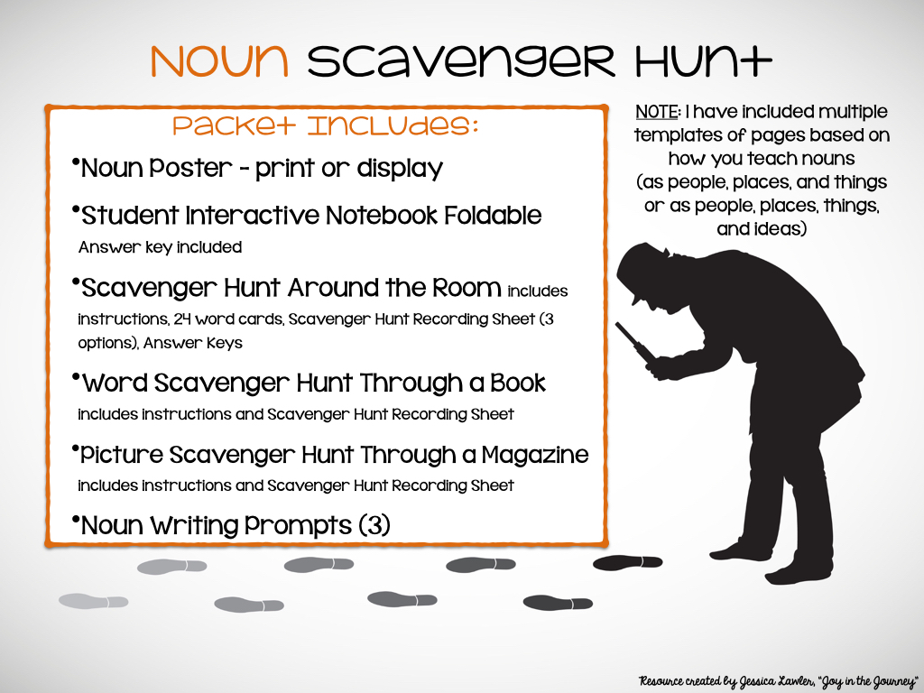 Send Your Students Hunting For Grammar