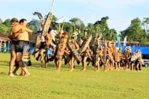 Tari-PERANG-Khas-TARIAN-Tradisional-Kalimantan-Timur