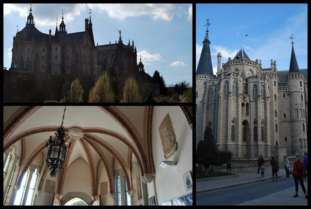 Palacio Episcopal de Astorga  proyectado por Antonio Gaudí