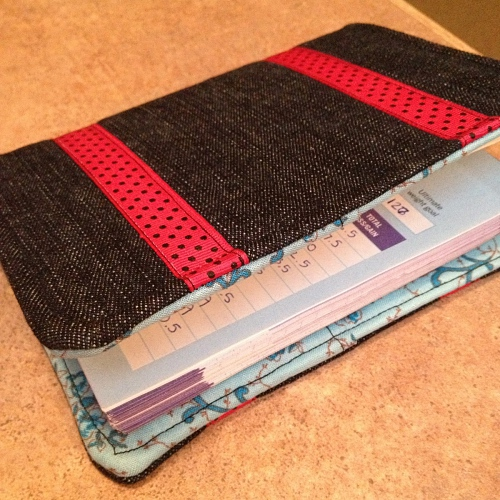 handmade Weight Watchers journal cover