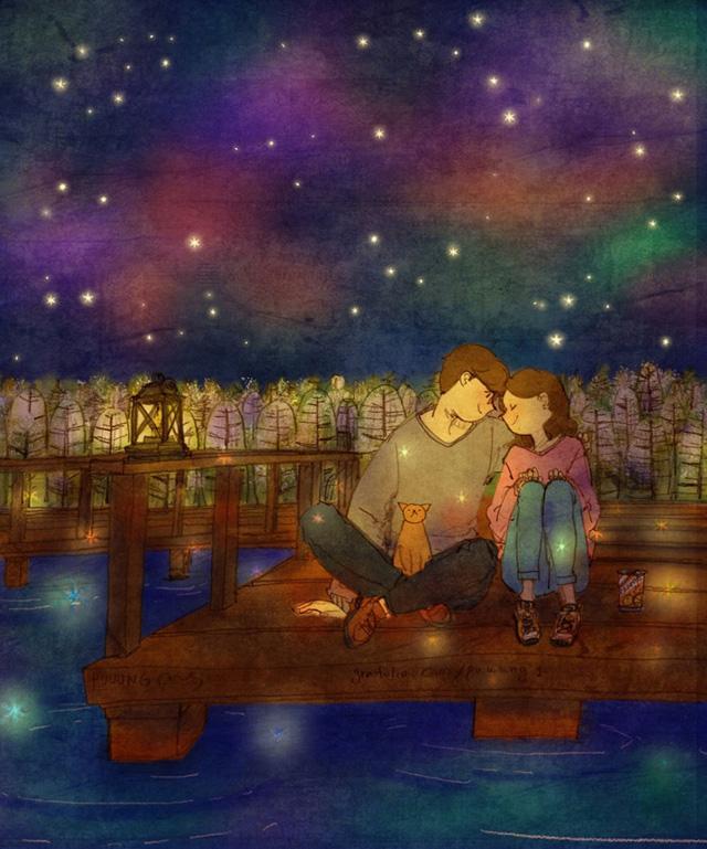 Aşk birlikte hayal kurmaktır