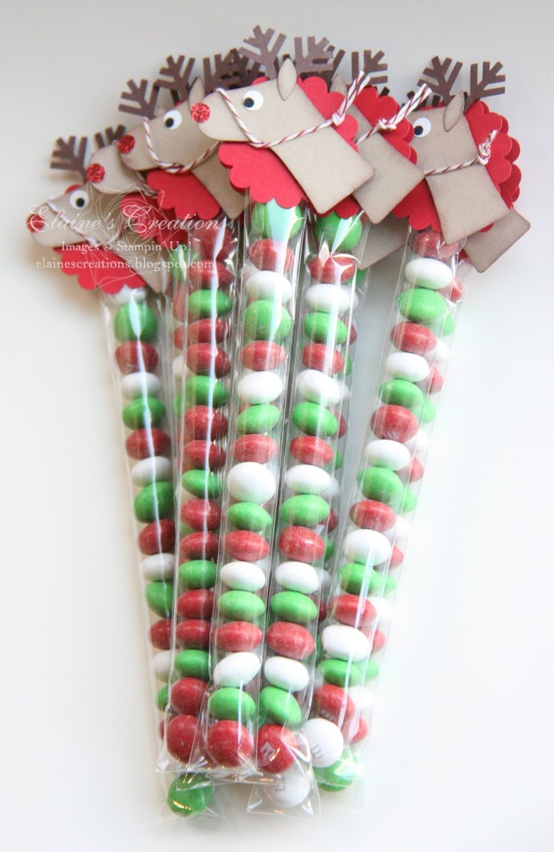 Elaine's Creations: Rudolph the Red Nosed Reindeer Treat