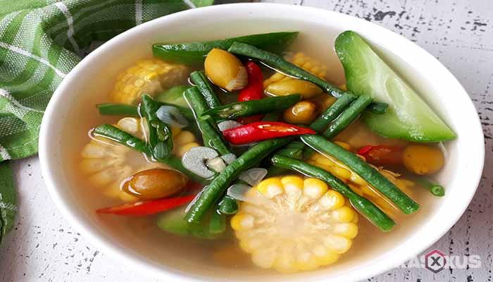 Resep cara membuat sayur asem Jawa Tengah
