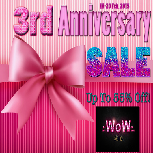 WoW Skins 3rd Anniversary Sale