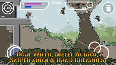 Doodle Army 2 Mini Militia  v3.0.6 Mod Apk Mega Mod