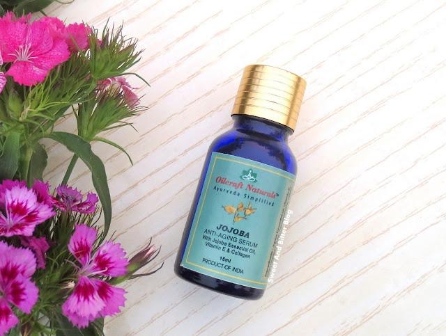 Oilcraft Naturals JOJOBA Anti-Aging Serum Review