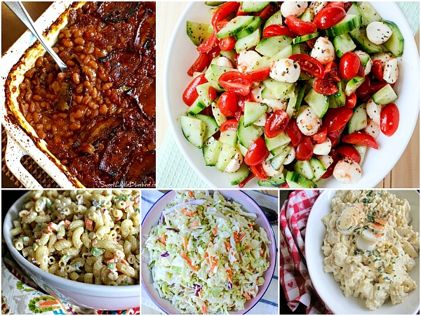 BBQ Summer Side Dishes featured on Walking on Sunshine.