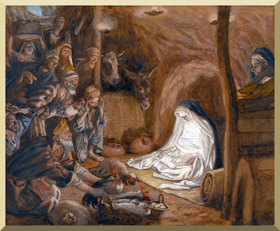 """The Adoration Of The Shepherds"" -- by James Tissot"