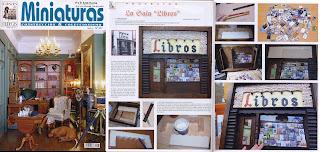 Revista Miniaturas - Sala Libros- librería Palacio de Fuenclara Zaragoza - Atalanta Miniaturas