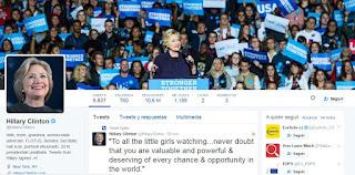 Twitter Hillary Clinton