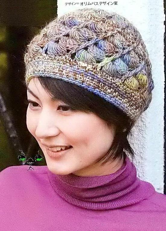 Stylish Easy Crochet  Crochet Hat Pattern - Spiral Hat   Beanie for ... 89cb1a2337e