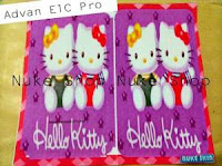Stiker, skotlet atau skin garskin hp Advan E1C Pro Hellokitty