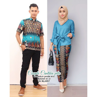 Batik Couple Cantika Pita