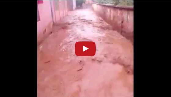 عاصفة رعدية قوية تغرق مجموعة مدارس بأزيلال