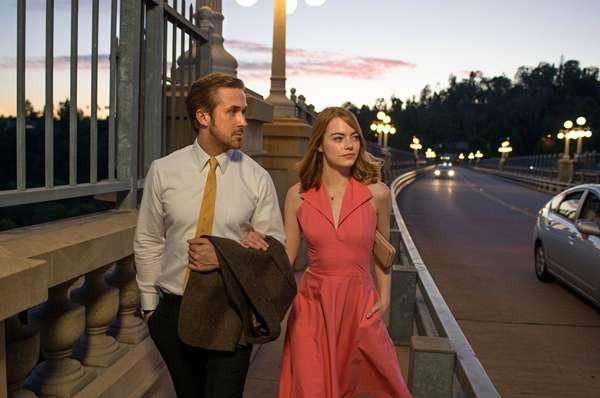 Ryan Gosling- Emma Stone- La La Land - 2016