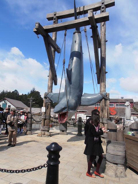 El tiburón de Jaws, capturado en el muelle
