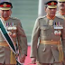 The list of serving generals of the Pakistan Army
