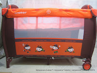 Baby Playpen CRATER 171 with Rocking Function