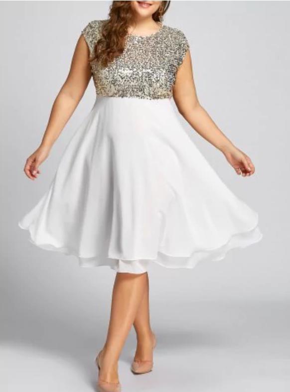 Piękne sukienki PLUS SIZE ROSEGAL