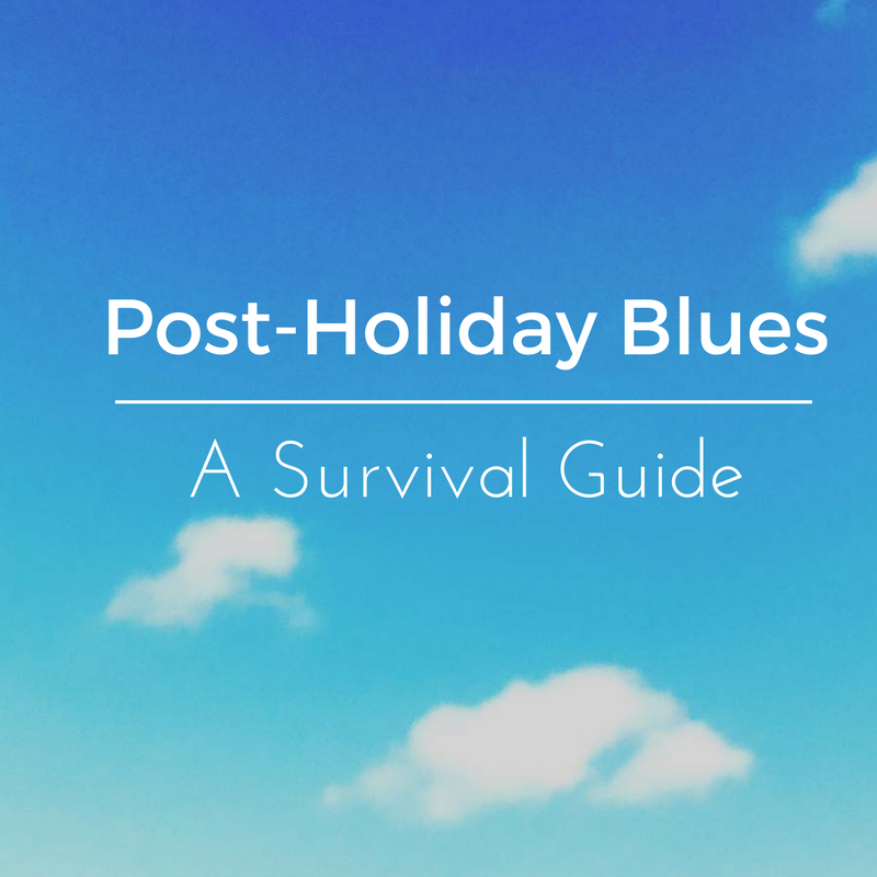 how to deal with post-vacation blues