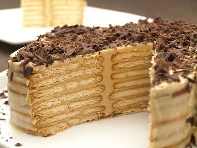 Torta Moka de Galletas