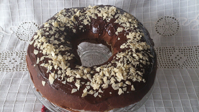 roscon reyes receta tradicional horno levado sencillo chocolate ron chocolate blanco rosco desayuno merienda postre navidad navideño casero blando esponjoso