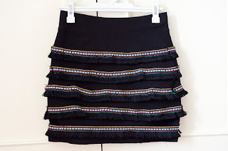 falda étnica DIY muy fácil paso a paso closet rehab