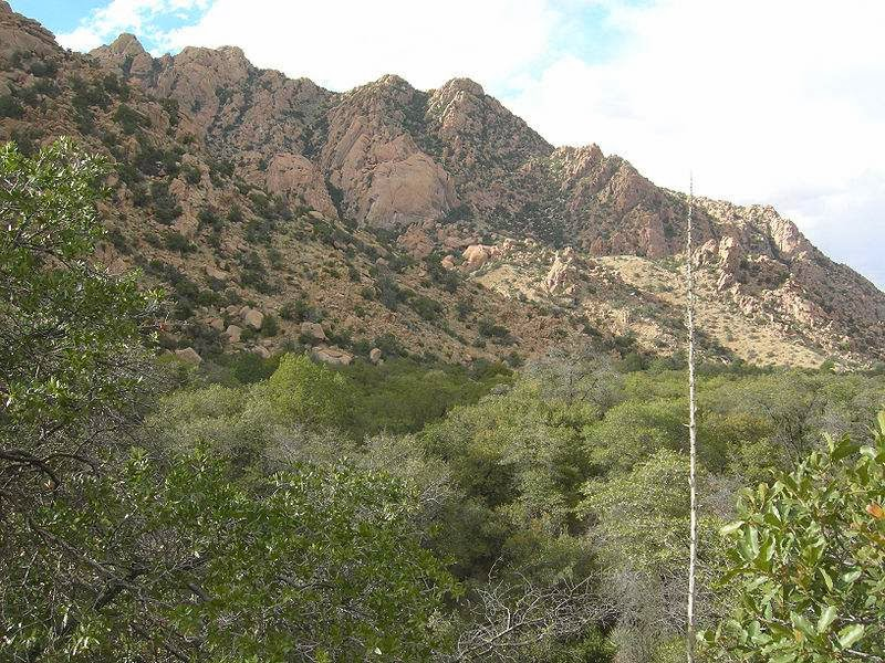 dragoon mountains cochise