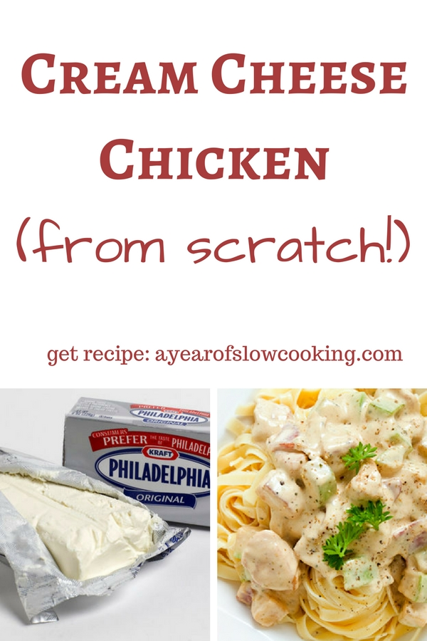 Crock-pot italian cream cheese chicken recipe