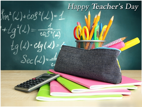 Happy Teacher's Day 2017 Quotes, Wishes, Images, Messages, SMS, Greetings, Card