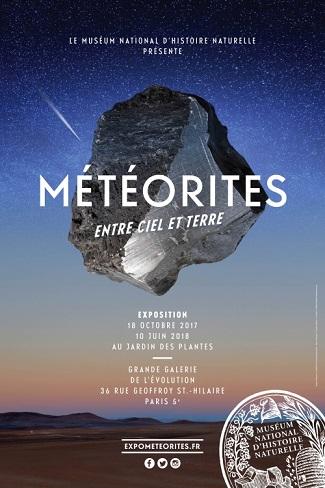 """Exposition """"Météorites - Entre ciel et terre"""""""