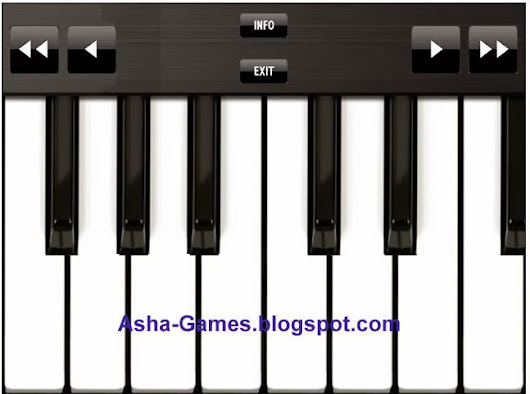 Piano Player Apps Download for Nokia Asha 500 501 502 503 touchscreen phones