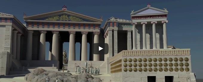 Η Ακρόπολη της Αθήνας και του Ακράγαντα σε 3D παρουσίαση