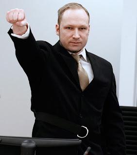 Breivik, el terrorista 'asesino de Noruega' se declara no culpable
