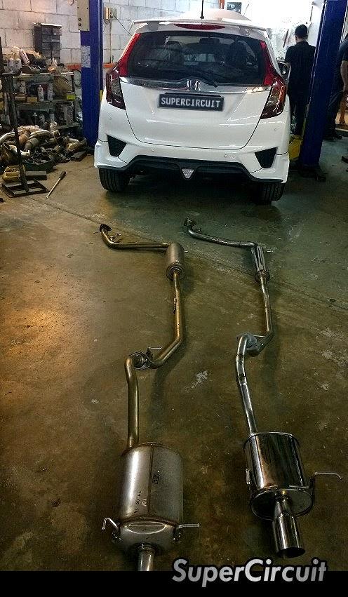 Supercircuit Exhaust Pro Shop The 2014 All New Honda Jazz