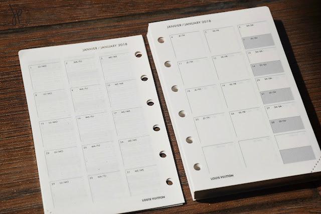 january 2018 calendar agenda