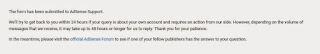 Pemberitahuan setelah Upload KTP Adsense