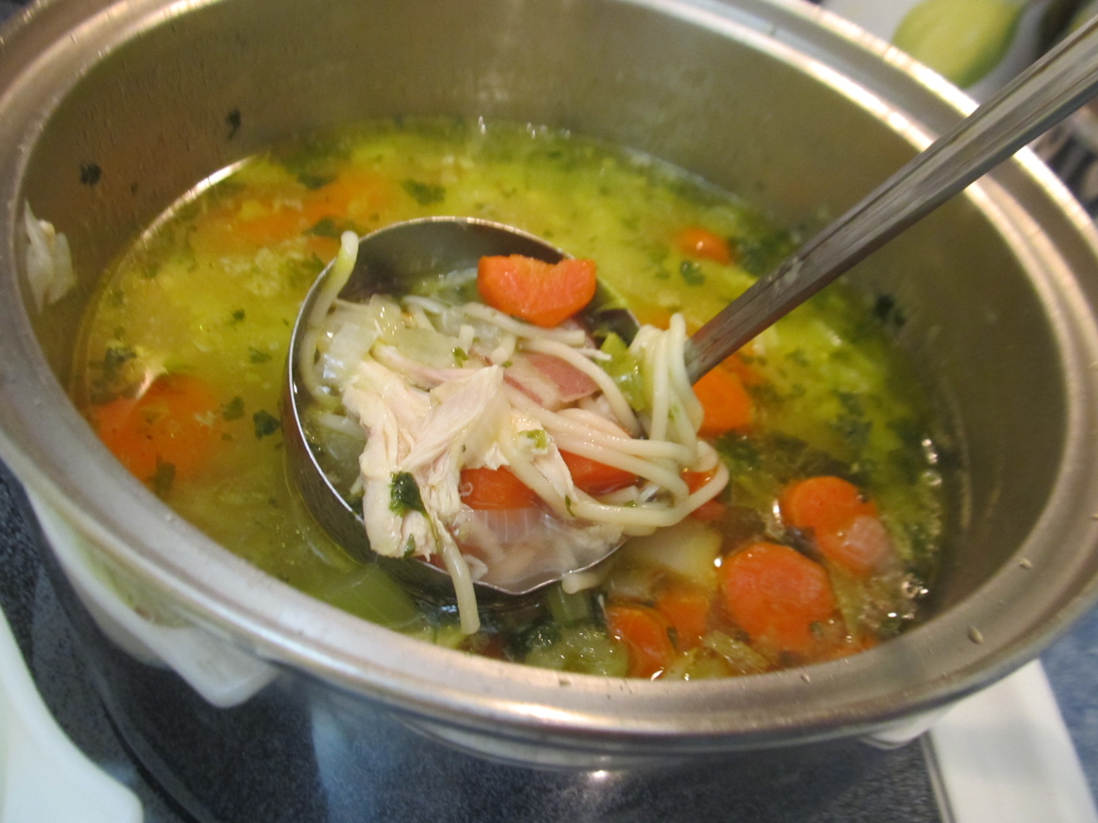Food and thrift easy chicken noodle soup for What vegetables to put in chicken noodle soup