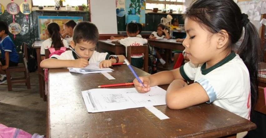 DRE San Martín evaluará a estudiantes con la prueba diagnóstica - www.dresanmartin.gob.pe