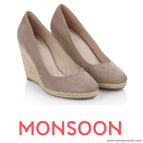 Kate Middleton style Monsoon Fleur Wedges