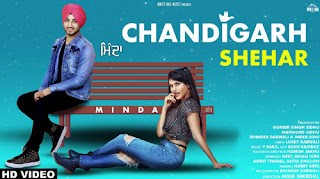Chandigarh Shehar Lyrics | Minda | V Rakx