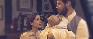 Ines incinta di Bosco di nuovo Il Segreto